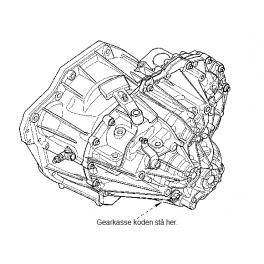 PF6040 Renoveret gearkasse Renault Trafic Opel Vivaro